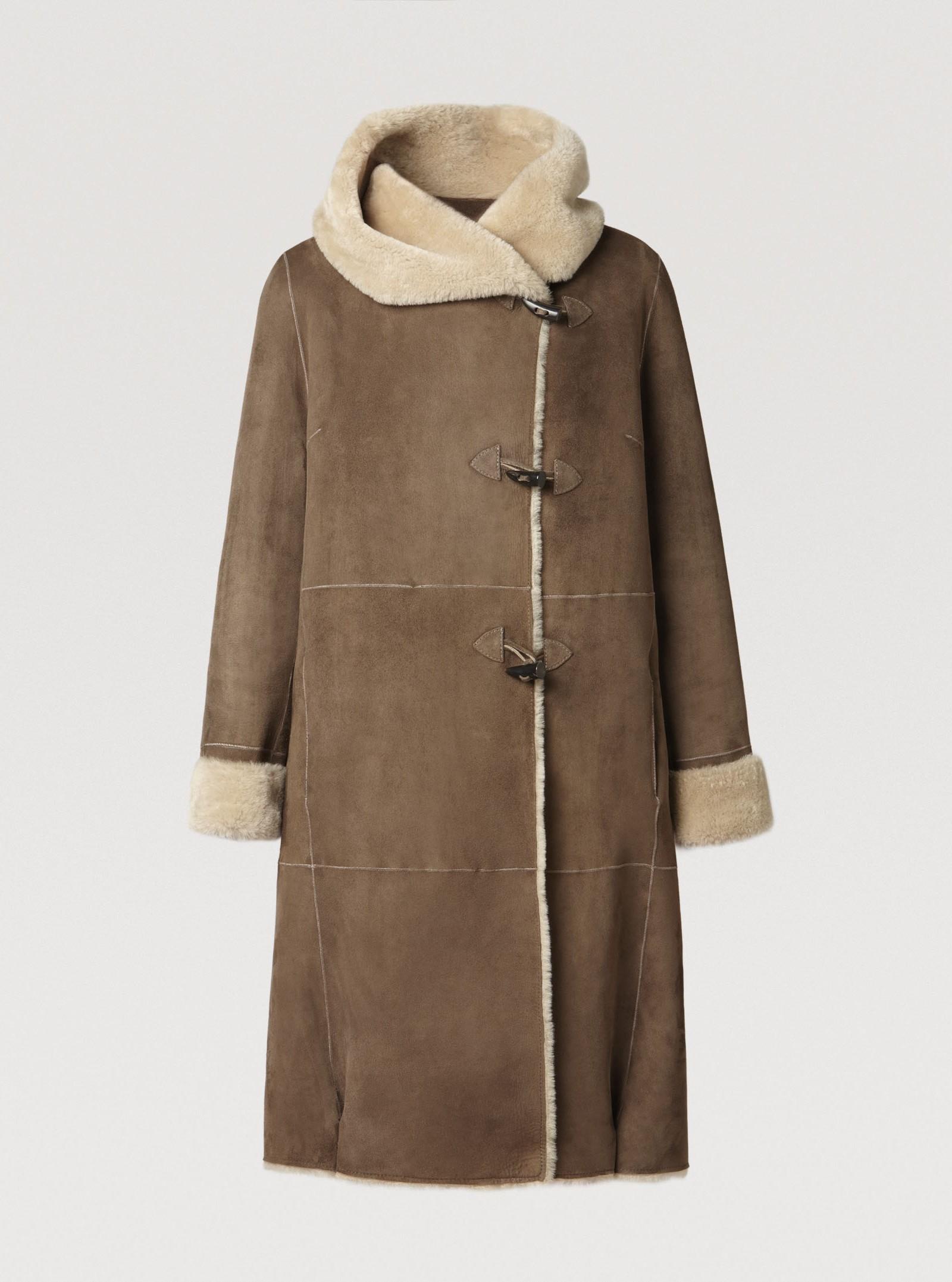 Donc je veux un manteau en peau lain e ladybaaz - Manteau peau lainee comptoir des cotonniers ...